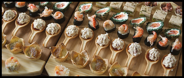 The prettiest canapes your guests won t be able to resist for Waitrose canape selection
